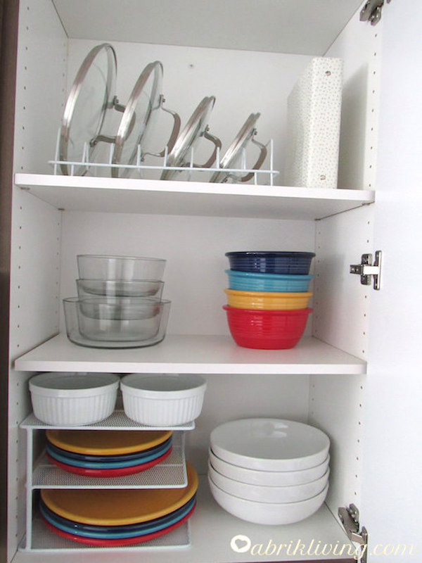 Kitchen Cabinet Organization | Simple Organizing Ideas ...
