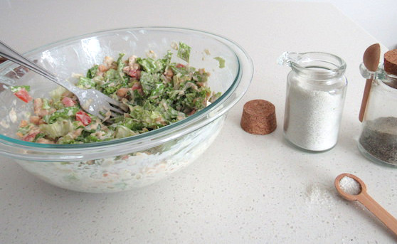 Chickpea Salad Sandwiches - Quick and Easy   abrikliving.com