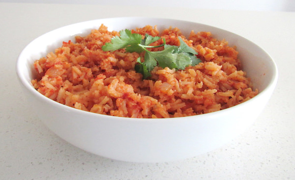 Authentic Mexican Rice - Vegan Style | abrikliving.com