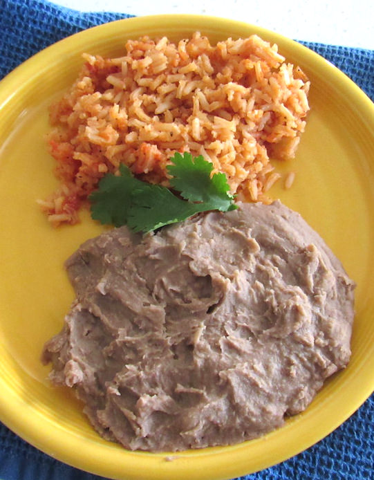 Authentic Mexican Rice - Vegan Style   abrikliving.com