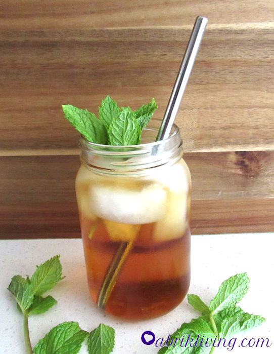 Tata's Mint Sun Tea - A Delightfully Refreshing Drink | abrikliving.com