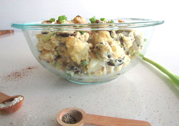 Vegan Potato Salad - Simply Delicious | abrikliving.com